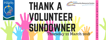 Thank A Volunteer 2018 Sundowner Re-Cap